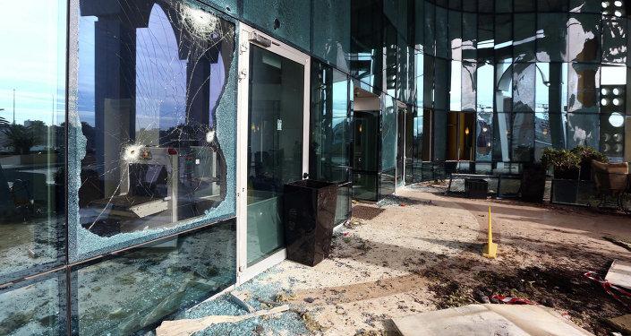 В Триполи прогремел мощный взрыв.
