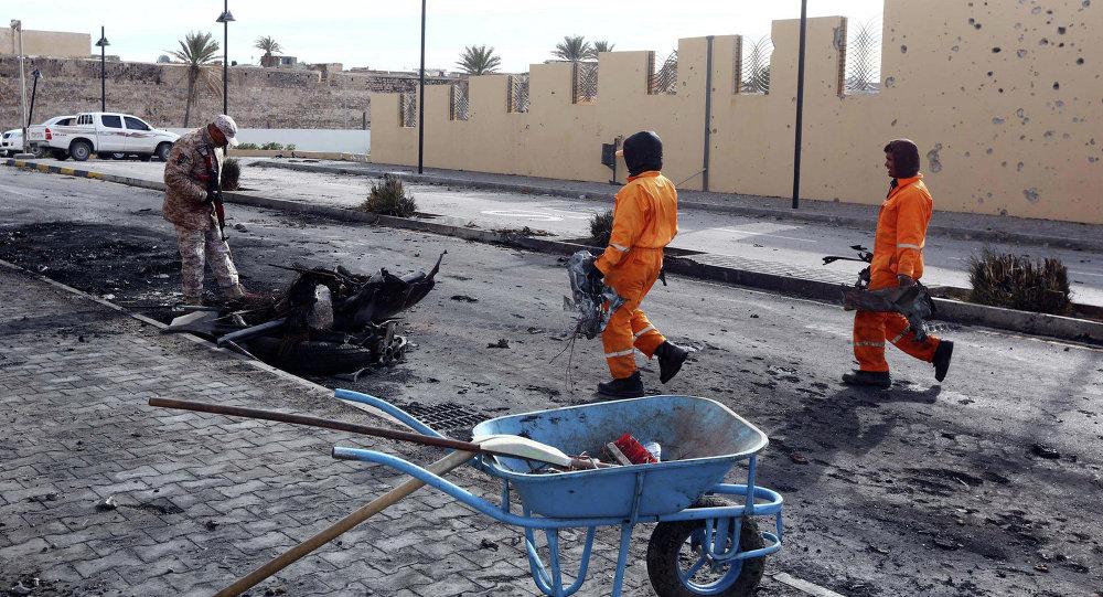 В Триполи прогремел мощный взрыв