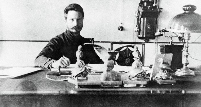 Командующий 4-й армией Восточного фронта Михаил Васильевич Фрунзе.