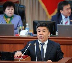 Алмамбет Шыкмаматов министр юстиции Кыргызской Республики