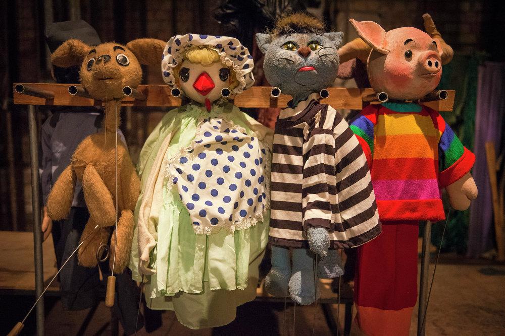 Картинки кукольных театров