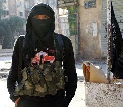 Член джихадистов. Архивное фото