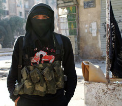 Фронт ан-Нусра джихад тобунун мүчөсү. Архив