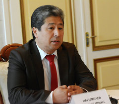 Экс-руководитель аппарата президента Данияр Нарымбаев. Архивное фото