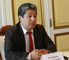 Президенттин аппарат жетекчиси Данияр Нарымбаев. Архив