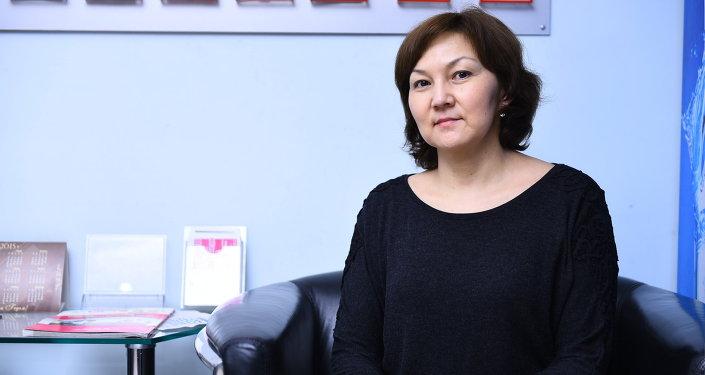Врач Национального центра онкологии КР Батырканова Чынара Жээнбековна