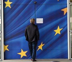 Штаб-квартира Европейской комиссии в Брюсселе, Бельгия.
