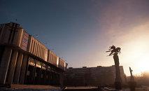 Бишкек шаарындагы Токтогул Сатылганов атындагы Кыргыз улуттук филармониясы. Архив