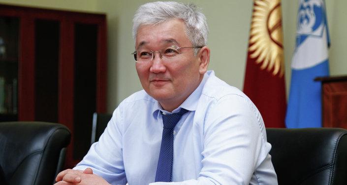 Мэр города Бишкек Кубанычбек Кулматов