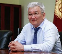Бишкек шаарынын мэри Кубанычбек Кулматов. Архив