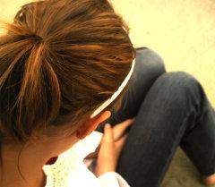 Девушка со спины. Архивное фото