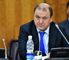 Кыргызстандын ИИМ басчысы Мелис Турганбаев. Архив
