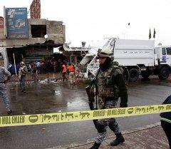 Ирактын полиция кызматкери. Архив