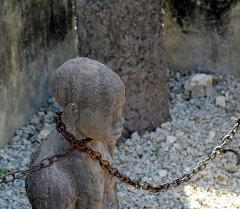 Памятник рабству на Занзибаре