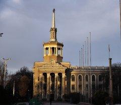Бишкектеги имарат. Архивдик сүрөт