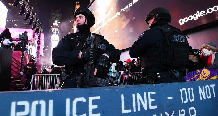 Полиция города Нью-Йорк. Архивное фото