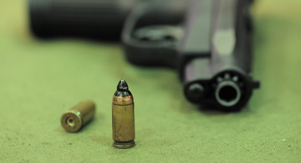 Патрон с пистолетом. Архивное фото