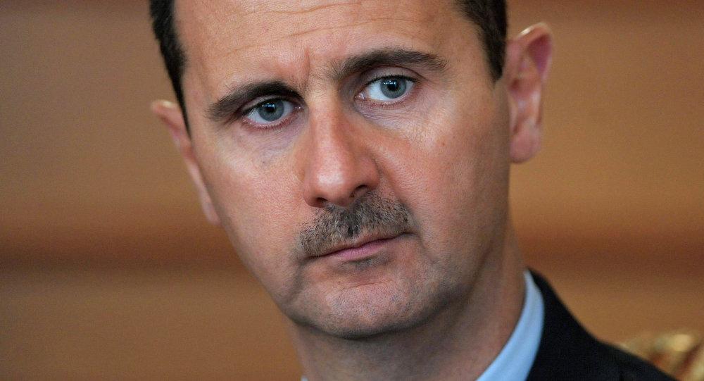 Встреча президентов России и Сирии