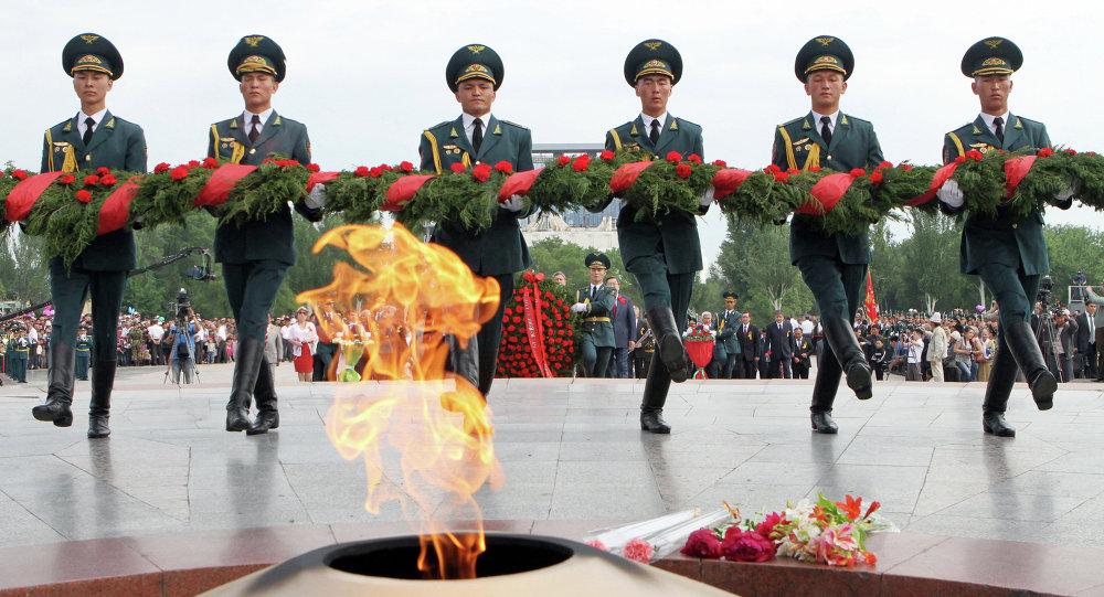 Празднование Дня Победы в Киргизии