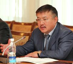 Экс-спикера Жогорку Кенеша Ахматбек Келдибеков. Архивное фото