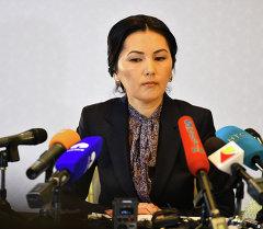 Экс-башкы прокурор, учурдагы ЖК депутаты Аида Салянованын архивдик сүрөтү