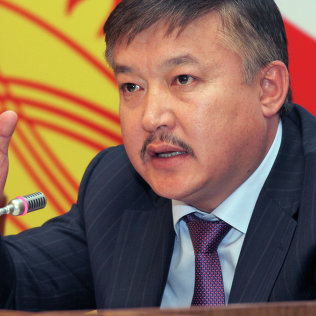 Депутат Жогорку Кенеша КР Ахматбек Келдибеков. Архивное фото