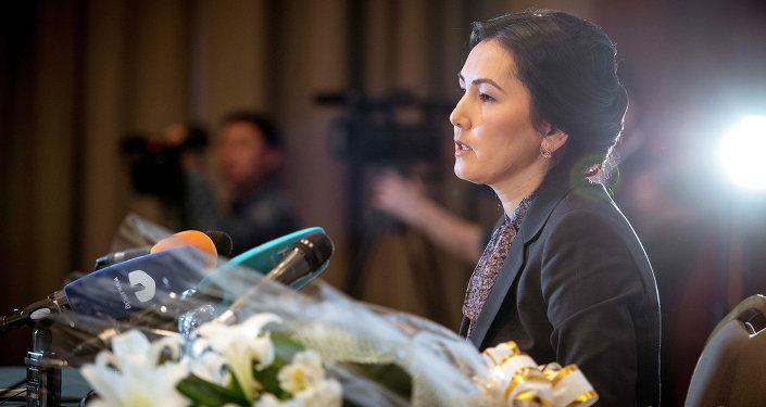 Бүгүн ЖК депутаты, мурдагы баш прокурор, учурдагы депутат Аида Салянованын архивдик сүрөтү