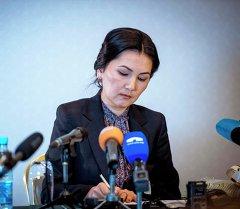 Мурунку башкы прокурор Аида Салянова. Архив