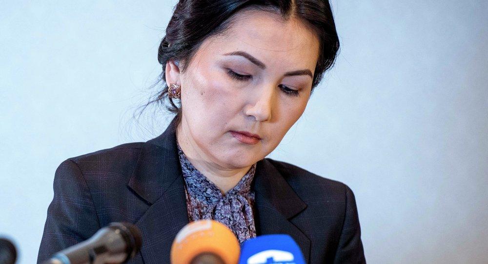 Архивное фото экс-генерального прокурора Аиды Саляновой