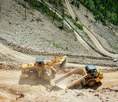 Работа на руднике. Архивное фото