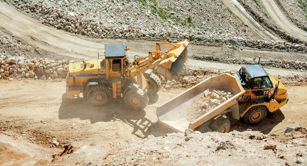 Добыча на руднике. Архивное фото