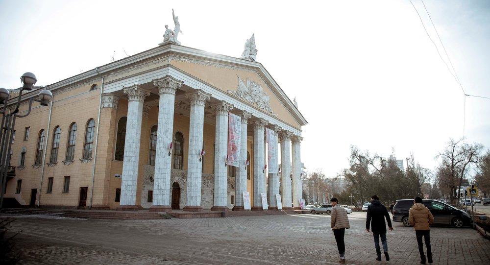 Адылас Малдыбаев атындагы опера жана балет театры. Архив