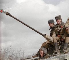 Афган согушундагы совет аскерлери. Архивдик сүрөт
