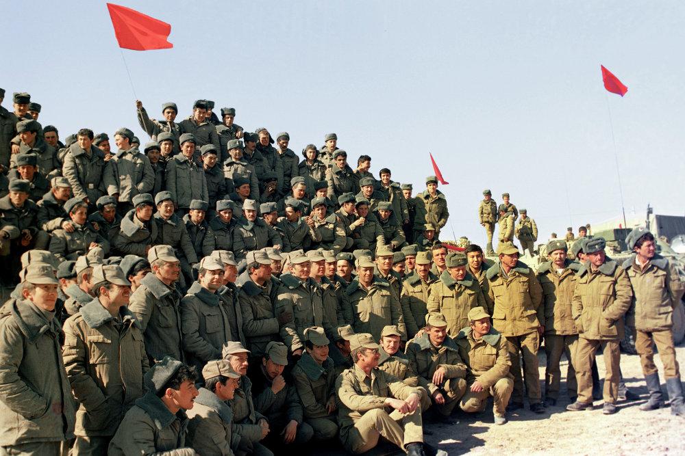 Н-ская часть ограниченного контингента советских войск