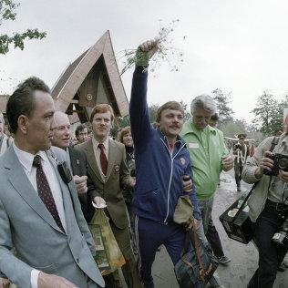 Золотой призер Московской Олимпиады по стрельбе из произвольного пистолета Александр Мелентьев