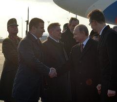 Визит президента РФ В.Путина в Венгрию