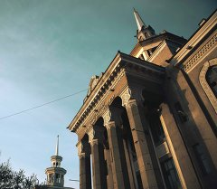 Кыргызстандын эл аралык университети. Архив