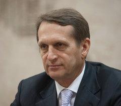 Председатель Госдумы РФ С.Нарышкин. Архивное фото.