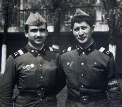 Известные люди Кыргызстана в рядах Советской Армии.