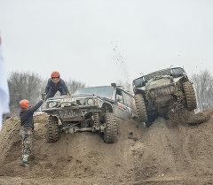 Гонки на внедорожниках Jeep sprint. Архив