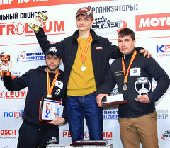 Победителем турнира по любительскому картингу стал Андрей Вакурин