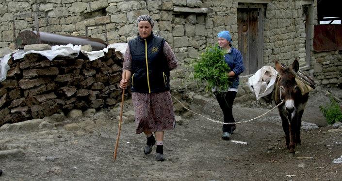 Быт сельских жителей в горных селениях Гунибского района