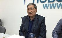 Кыргызстанский адвокат Кайрат Загибаев. Архивное фото