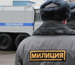 Маркировка Полиция на машинах в России. Архивное фото