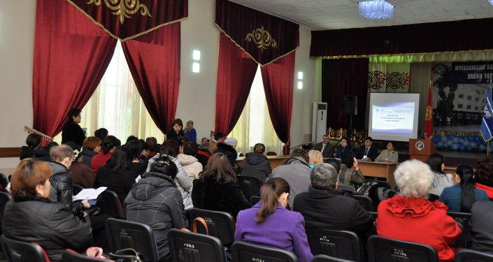 Семирнар для учителей в университете им. Арабаева