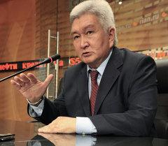 Экс-глава кабинета министров Киргизии Феликс Кулов