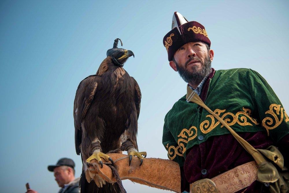 Чемпионат по традиционной кыргызской охоте Салбурун