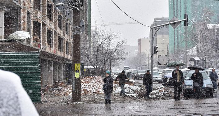 Новостройка в городе Бишкек