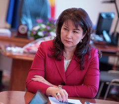 Архивное фото министра юстиции КР Жылдыз Мамбеталиевой