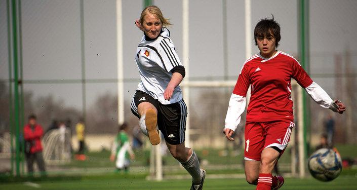 Финал женского чемпионата по мини-футболу.